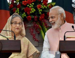 शेख हसीना और नरेंद्र मोदी ने शनिवार को दिल्ली में ज्वाइंट स्टेटमेंट दिया।
