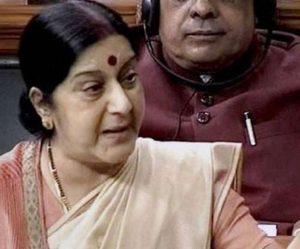 संसद में जब पीओके के मुद्दे को उठाया गया तो विदेश मंत्री सुषमा स्वराज ने कहा कि पीओके के हर इंच पर भारत का अधिकार है।