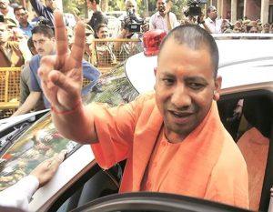 योगी आदित्यनाथ के ड्राइवर पर लगा 500 रुपए का जुर्माना।